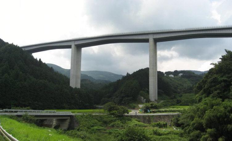 松山道 長谷川橋