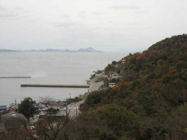 たつの市 岩見坂からの風景