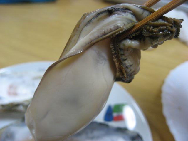 室津牡蠣2月編 レンジがき