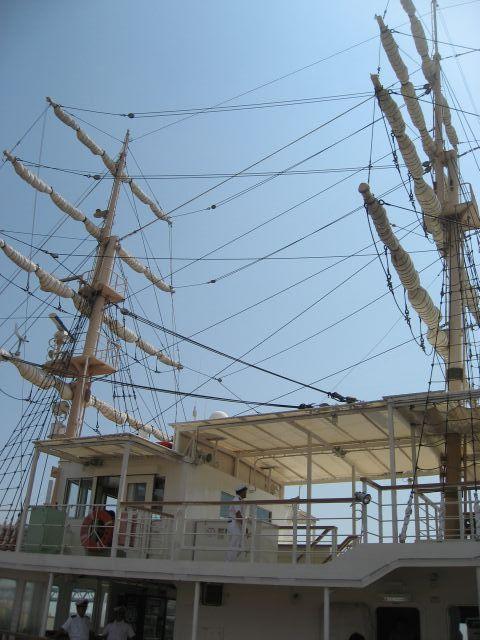 観光船 日本丸
