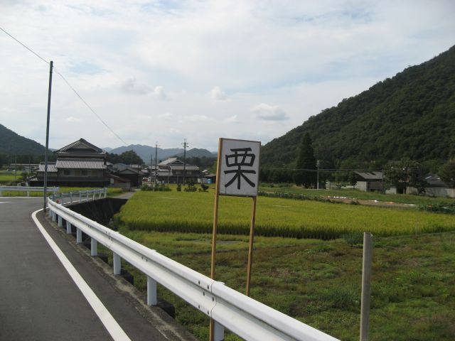 西脇(塚口) 栗無人販売所