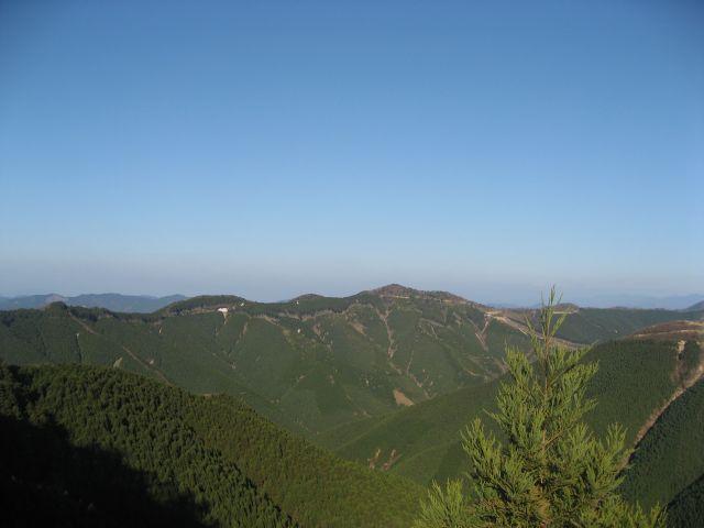 高野龍神スカイライン 護摩壇山からの眺望